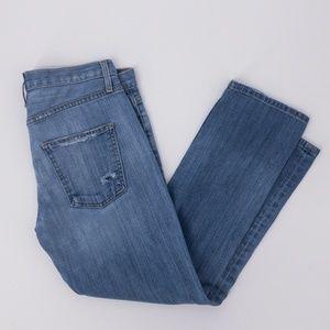 Current/Elliot : Boyfriend Jeans Decoy w/Repair 26